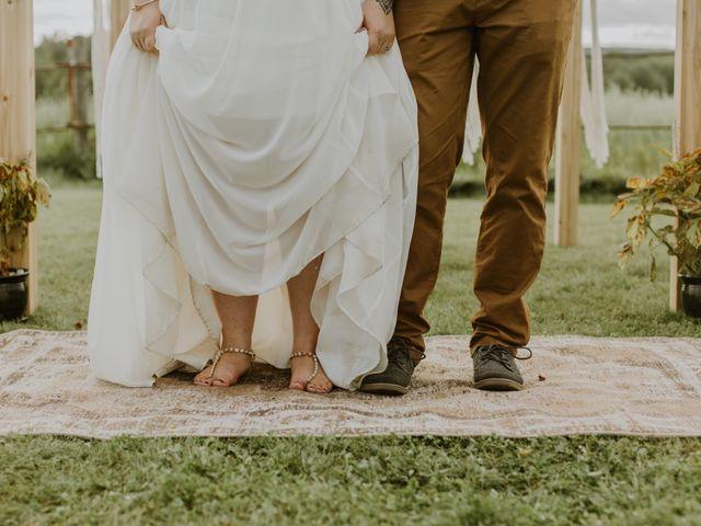 Dave and Syd's wedding in Dawson Creek, British Columbia 26