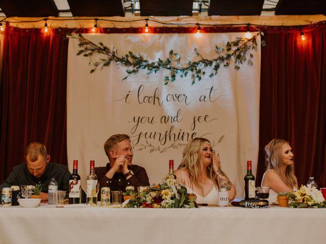 Dave and Syd's wedding in Dawson Creek, British Columbia 29