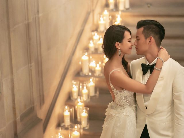 The wedding of Jonathan and Chrystal