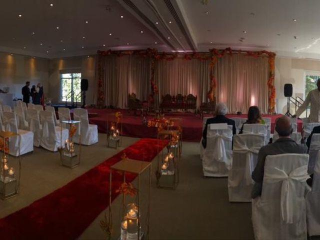 Bav and Drithal's wedding in Niagara on the Lake, Ontario 1