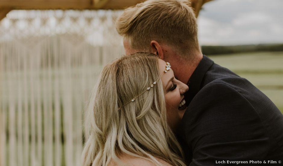 Dave and Syd's wedding in Dawson Creek, British Columbia