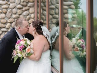 The wedding of Charlene and Steven