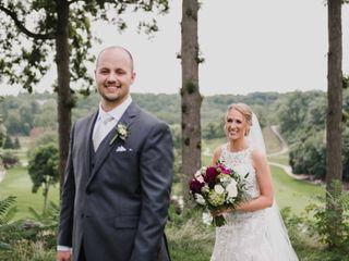 The wedding of Melissa and Ian