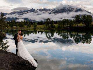 The wedding of Christina and Kyle