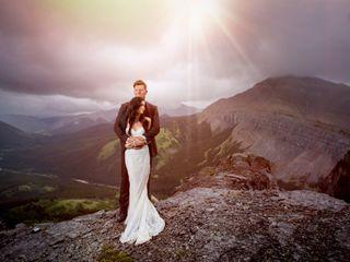 The wedding of Naomi and Rob