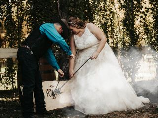 The wedding of Kyle and Kristina 1