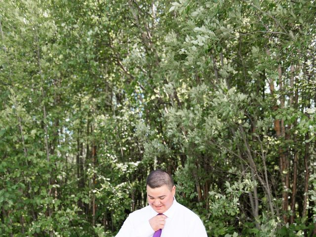 Dusty and Isa's wedding in Fort St John, British Columbia 7