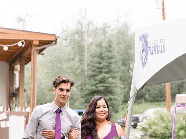 Dusty and Isa's wedding in Fort St John, British Columbia 20