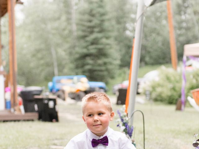Dusty and Isa's wedding in Fort St John, British Columbia 21