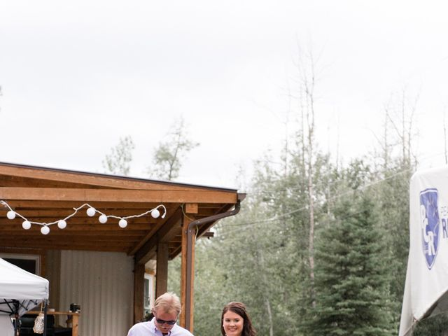 Dusty and Isa's wedding in Fort St John, British Columbia 24