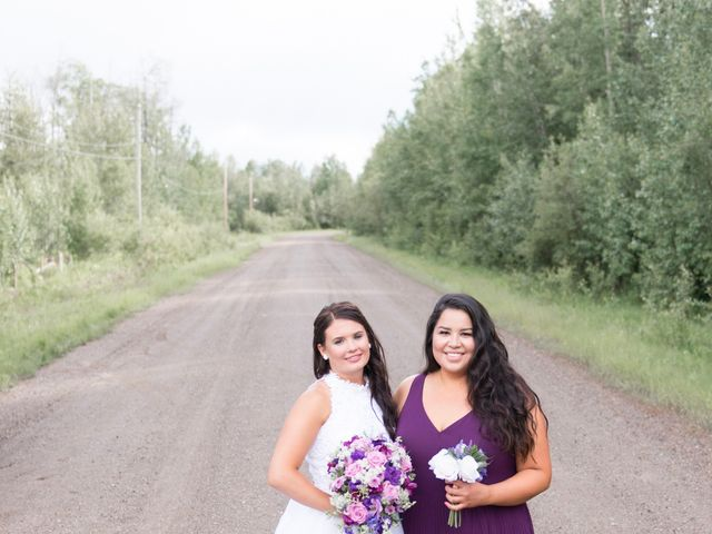 Dusty and Isa's wedding in Fort St John, British Columbia 26