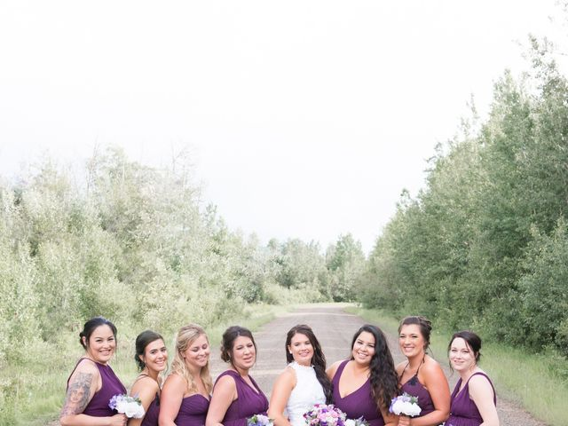 Dusty and Isa's wedding in Fort St John, British Columbia 27
