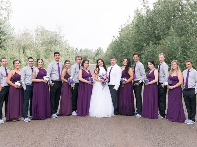 Dusty and Isa's wedding in Fort St John, British Columbia 28