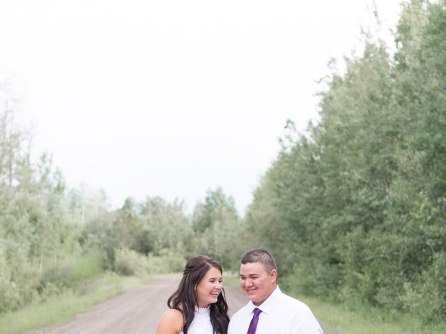 Dusty and Isa's wedding in Fort St John, British Columbia 31