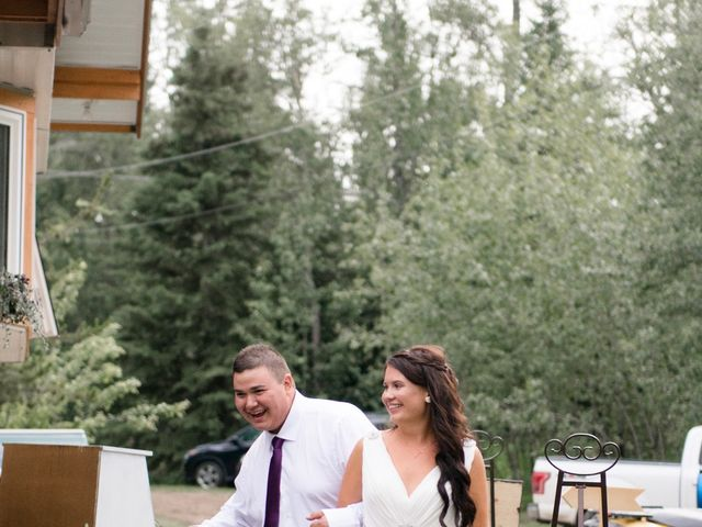 Dusty and Isa's wedding in Fort St John, British Columbia 41