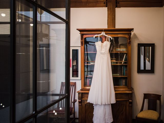 Vanessa and Dylan's wedding in Alton, Ontario 1