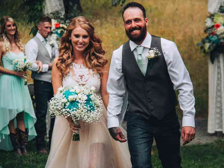 The wedding of Dallas and Ashley