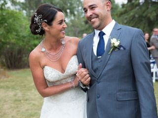 The wedding of Holly and Jarrod