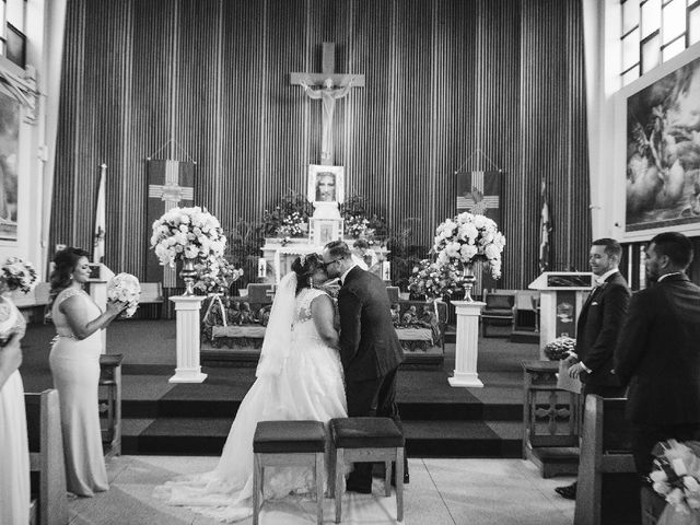 The wedding of Jamieanne and Walter