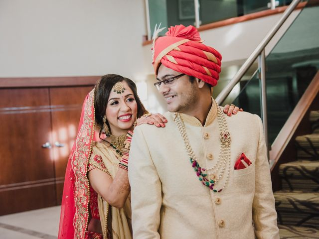 The wedding of Chintan and Vrunda