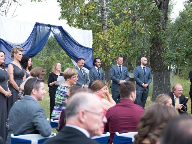Jarrod and Holly's wedding in Calgary, Alberta 12