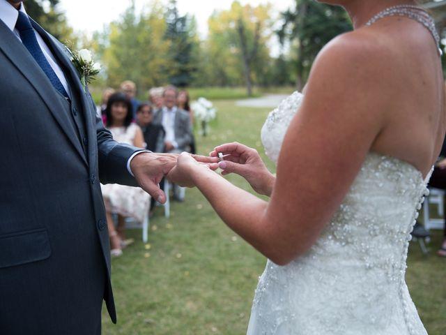 Jarrod and Holly's wedding in Calgary, Alberta 16