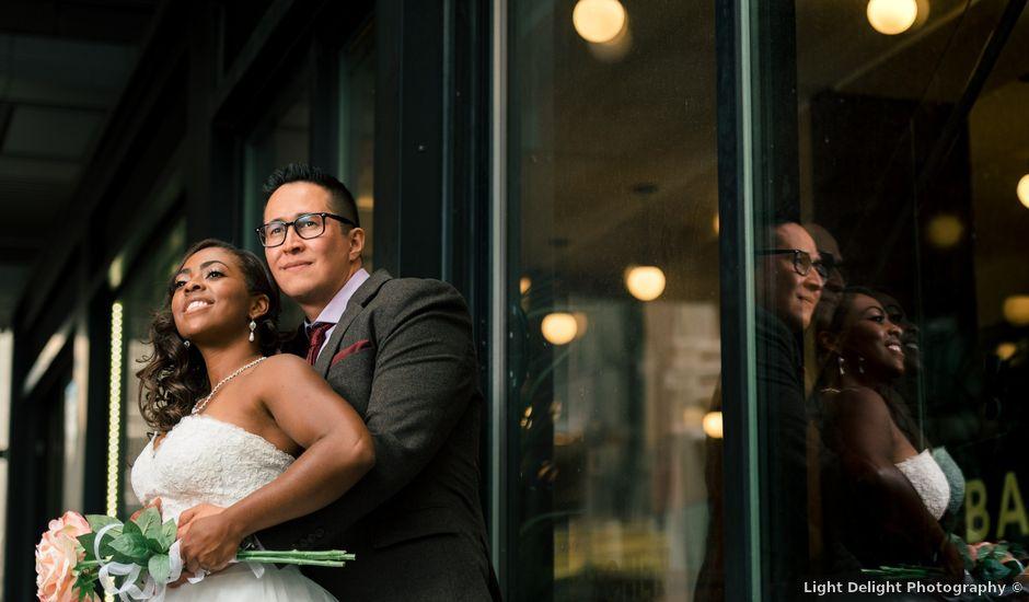 Phil and Adele's wedding in Calgary, Alberta
