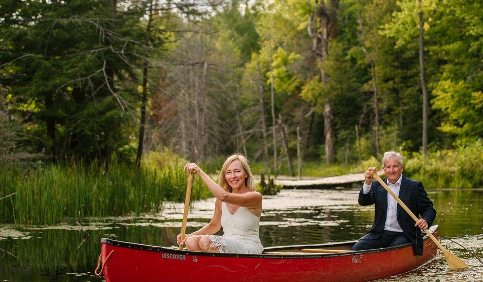 David and Mimi's wedding in Madoc, Ontario