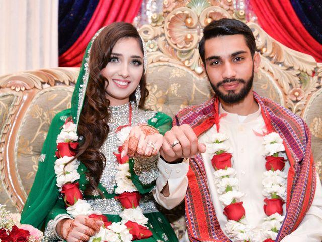 The wedding of Maryam and Zoro