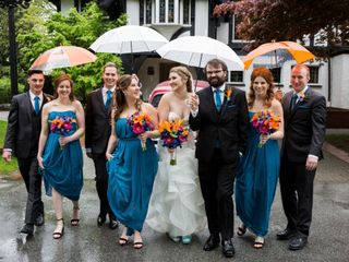 The wedding of Jacqueline and Dan