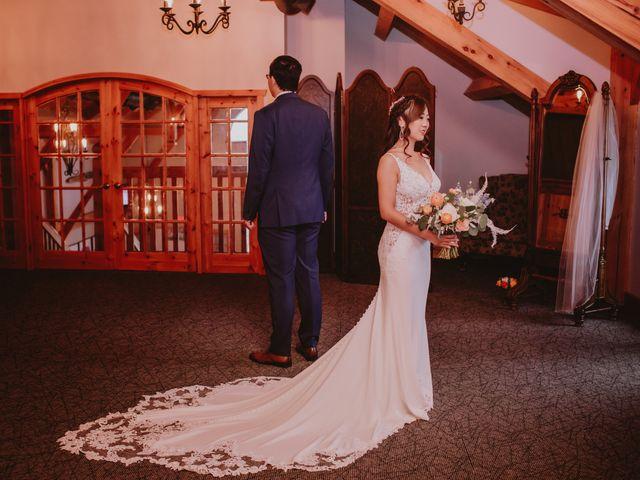 Dinghua and Yixiu's wedding in Starbuck, Manitoba 16