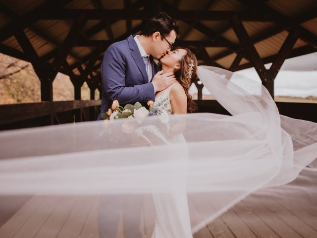 Dinghua and Yixiu's wedding in Starbuck, Manitoba 19
