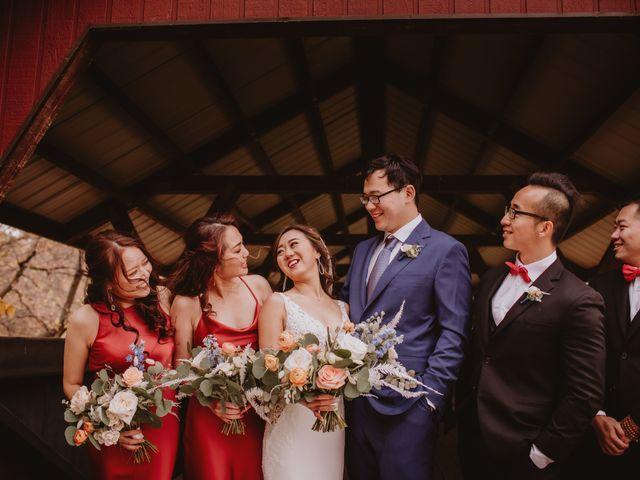 Dinghua and Yixiu's wedding in Starbuck, Manitoba 21