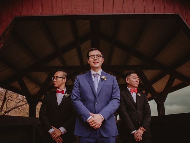 Dinghua and Yixiu's wedding in Starbuck, Manitoba 24