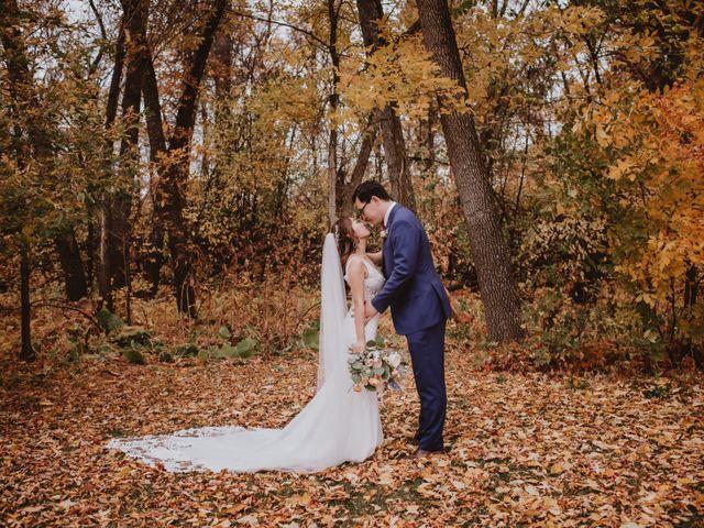 Dinghua and Yixiu's wedding in Starbuck, Manitoba 25