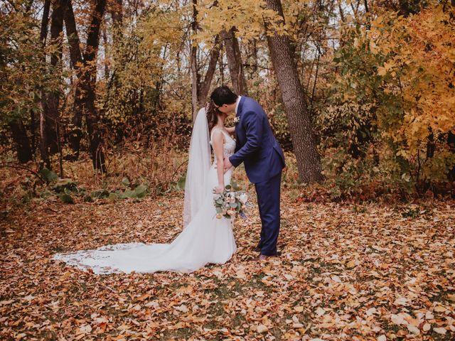 Dinghua and Yixiu's wedding in Starbuck, Manitoba 26