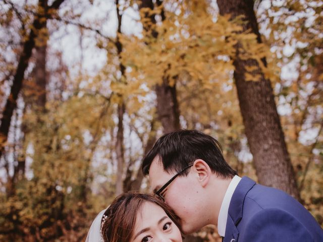 Dinghua and Yixiu's wedding in Starbuck, Manitoba 27