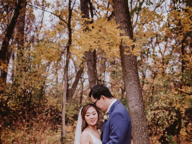 Dinghua and Yixiu's wedding in Starbuck, Manitoba 28