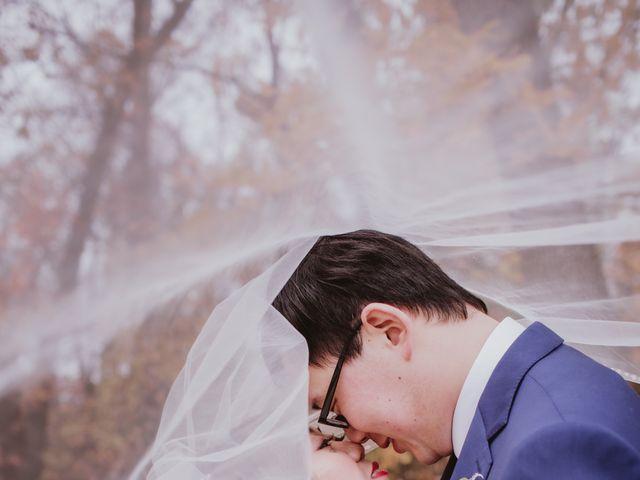 Dinghua and Yixiu's wedding in Starbuck, Manitoba 30