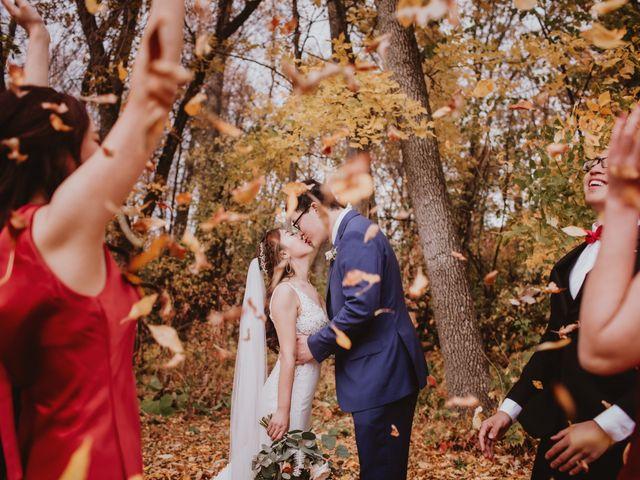 Dinghua and Yixiu's wedding in Starbuck, Manitoba 33
