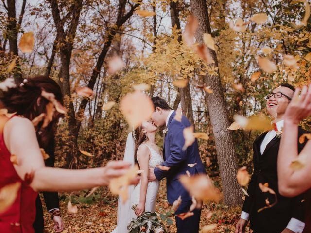 Dinghua and Yixiu's wedding in Starbuck, Manitoba 34