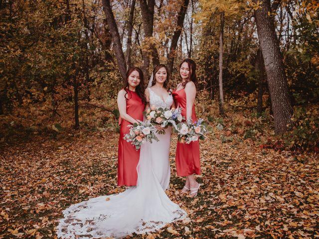 Dinghua and Yixiu's wedding in Starbuck, Manitoba 35