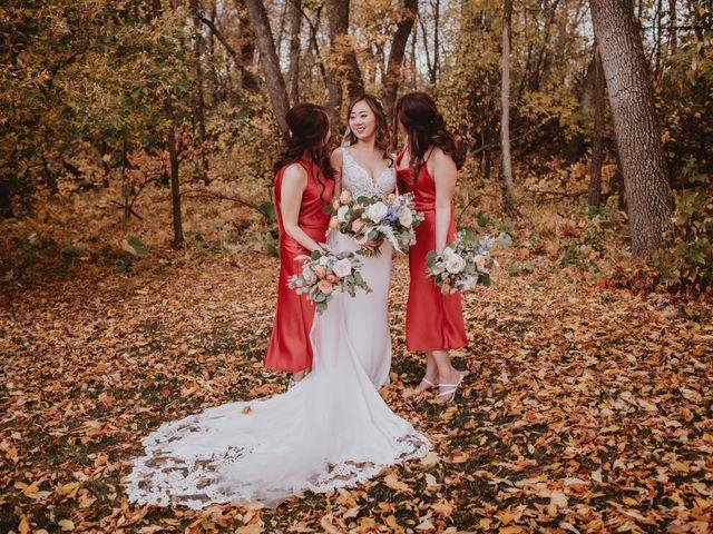 Dinghua and Yixiu's wedding in Starbuck, Manitoba 36