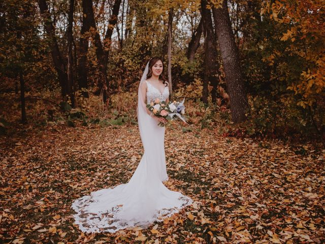 Dinghua and Yixiu's wedding in Starbuck, Manitoba 38