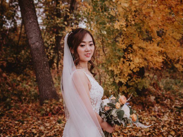 Dinghua and Yixiu's wedding in Starbuck, Manitoba 40