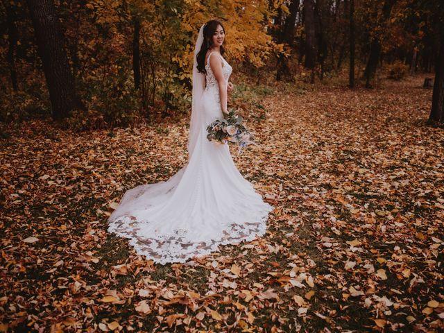 Dinghua and Yixiu's wedding in Starbuck, Manitoba 41
