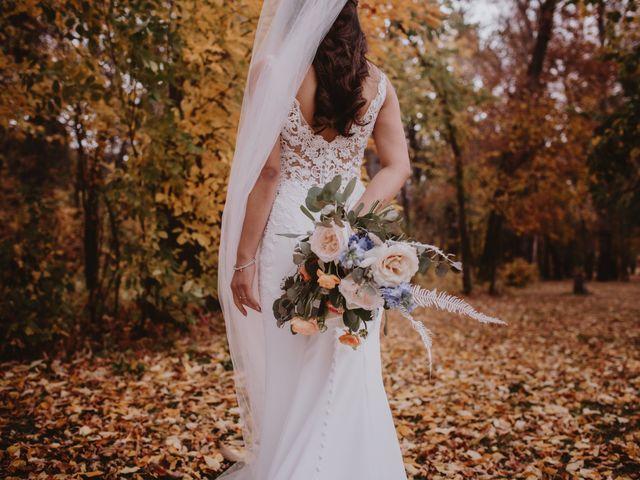 Dinghua and Yixiu's wedding in Starbuck, Manitoba 42