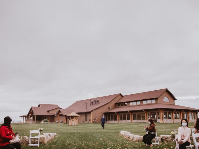 Dinghua and Yixiu's wedding in Starbuck, Manitoba 46