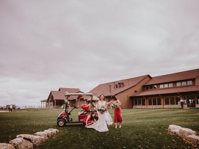 Dinghua and Yixiu's wedding in Starbuck, Manitoba 48