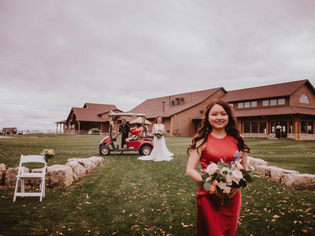 Dinghua and Yixiu's wedding in Starbuck, Manitoba 49
